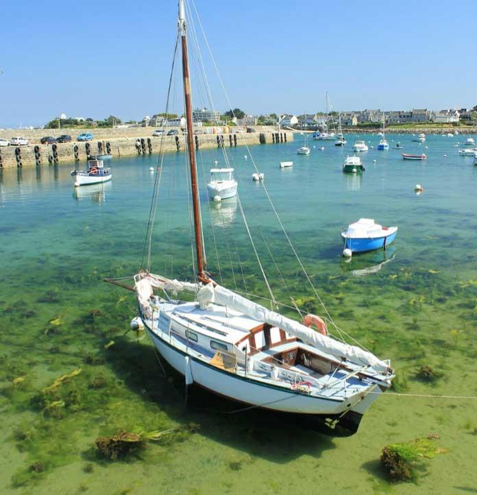 Baie de Morlaix bateau