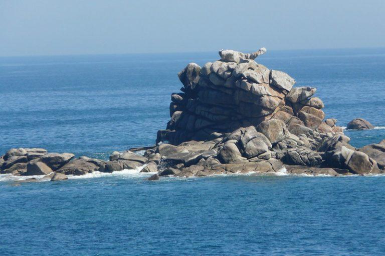 Le rocher du chien - Roc'h ar Ch'i - Plouescat