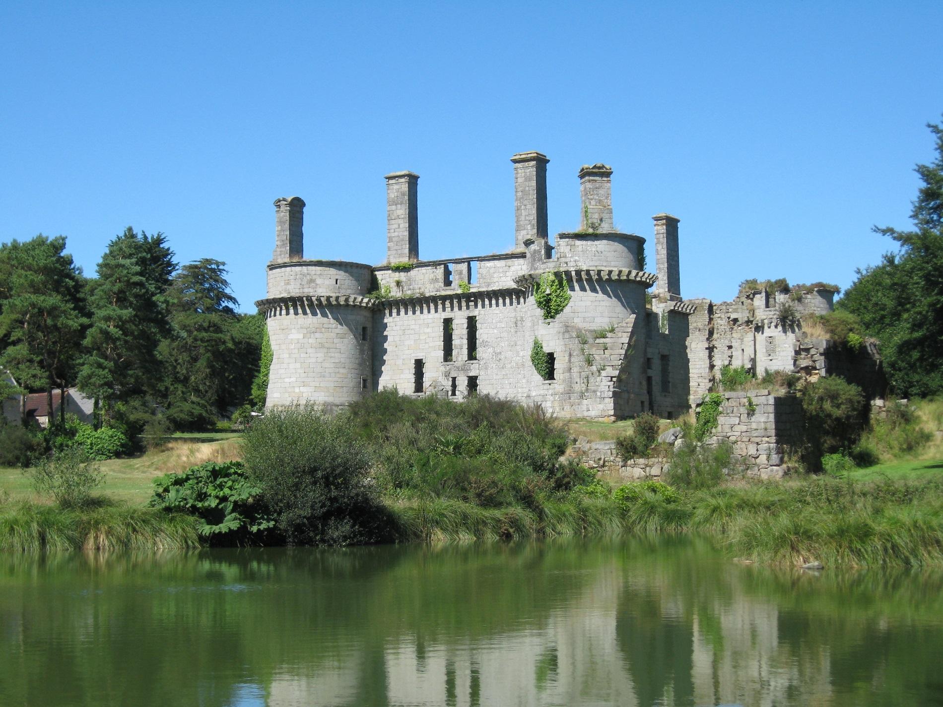 Château de Kergounadéach