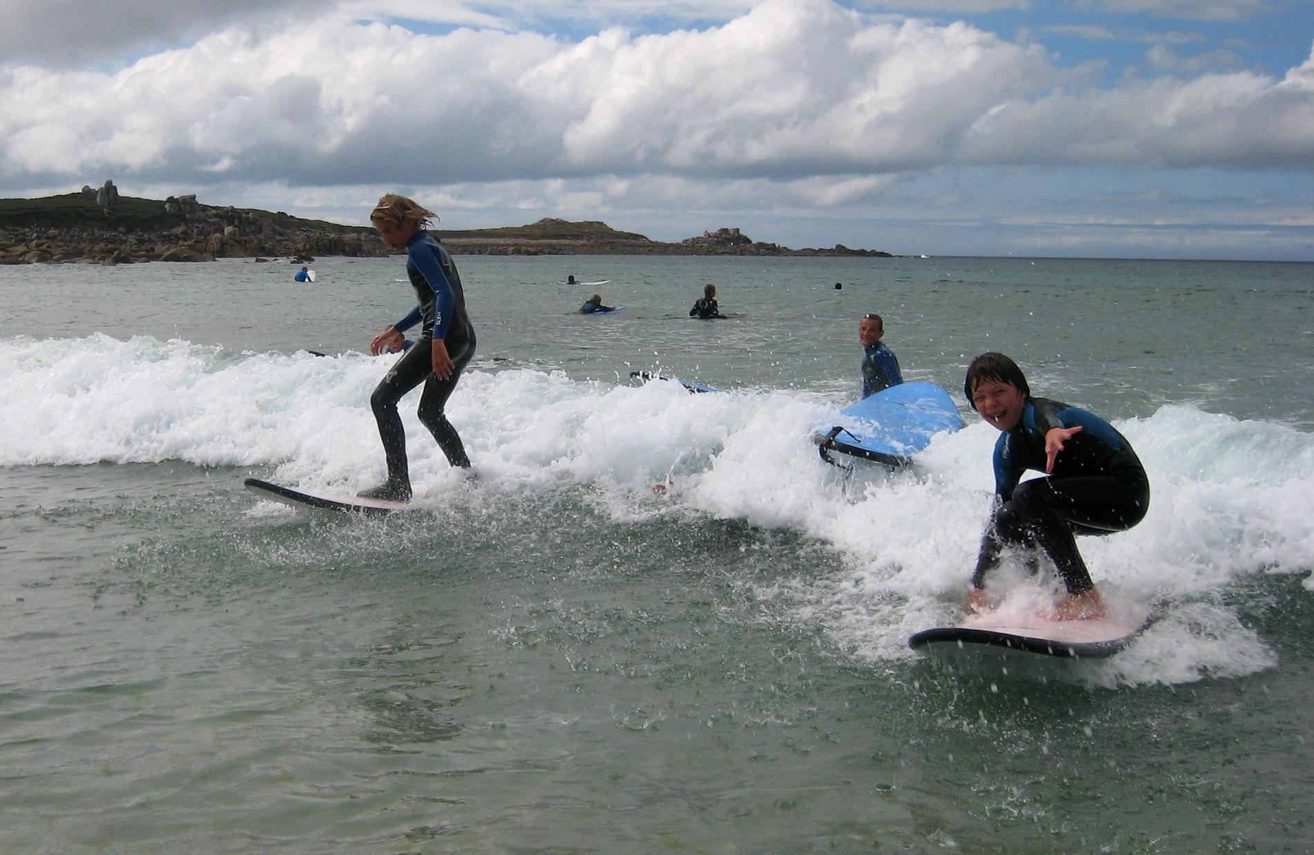 Surf à la Mauvaise Grève